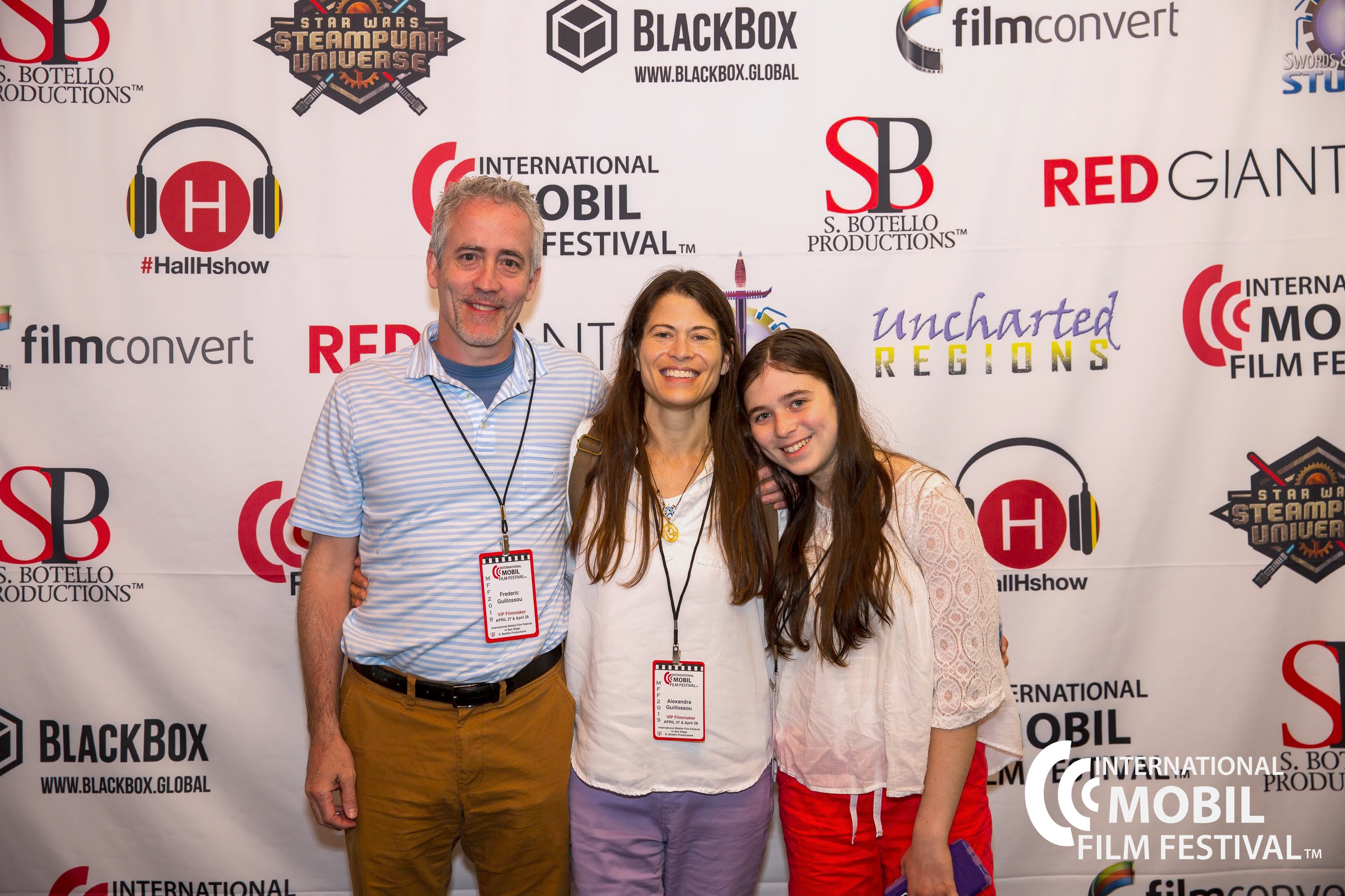 Alexandra Guillossou and family IMFF2019