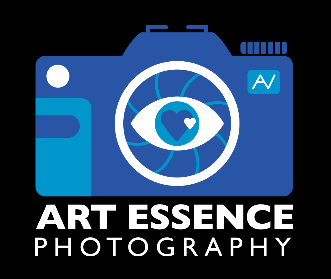 Art Essence on black logo