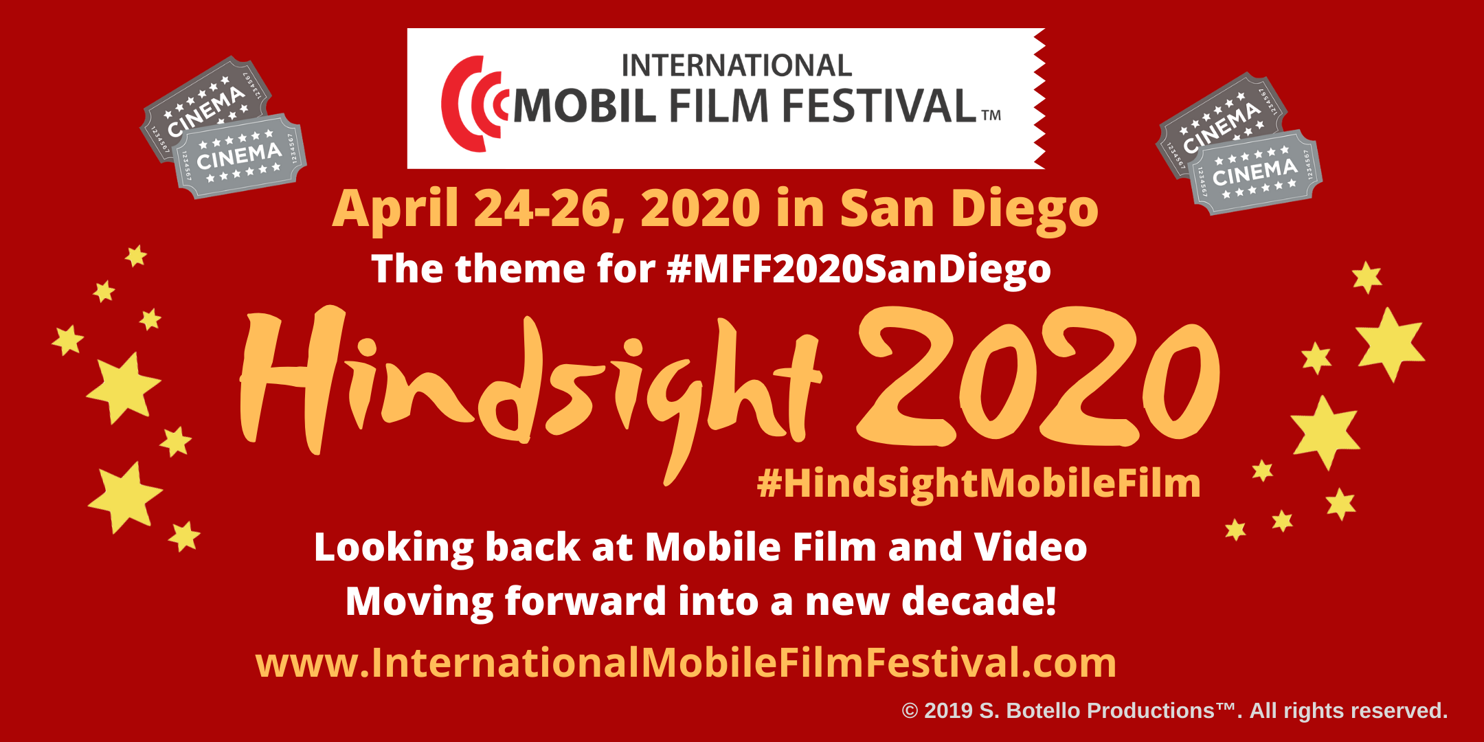 Hindsight Theme IMFF 2020 3 days 2160X1080