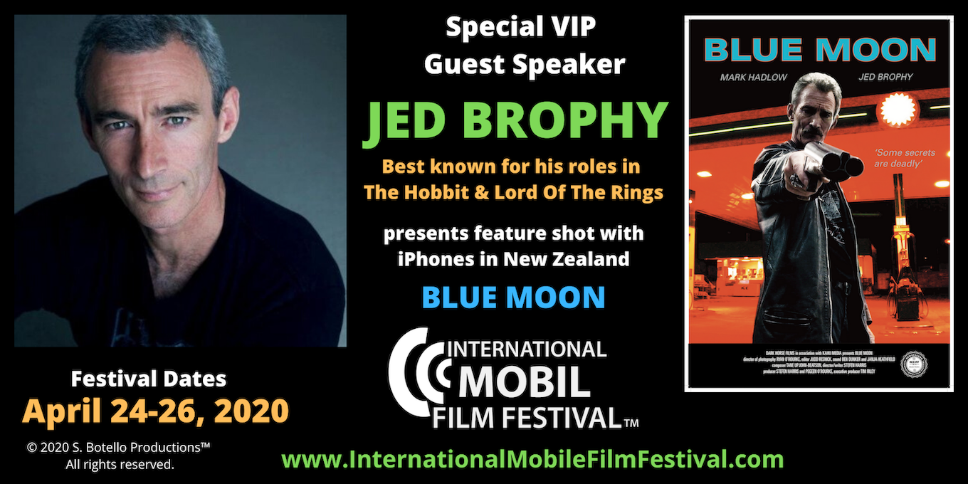 Jed Brophy Blue Moon IMFF 2020