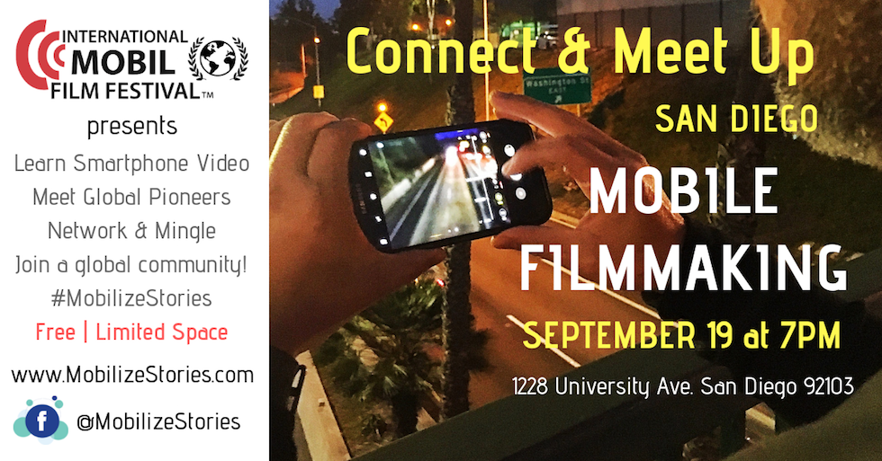 Mobile FilmmakingConnect Meet Up web