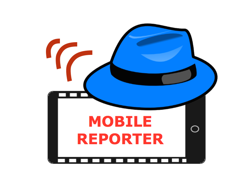 Are you interested in being a Mobile Smartphone Journalist or Reporter? Contact us!