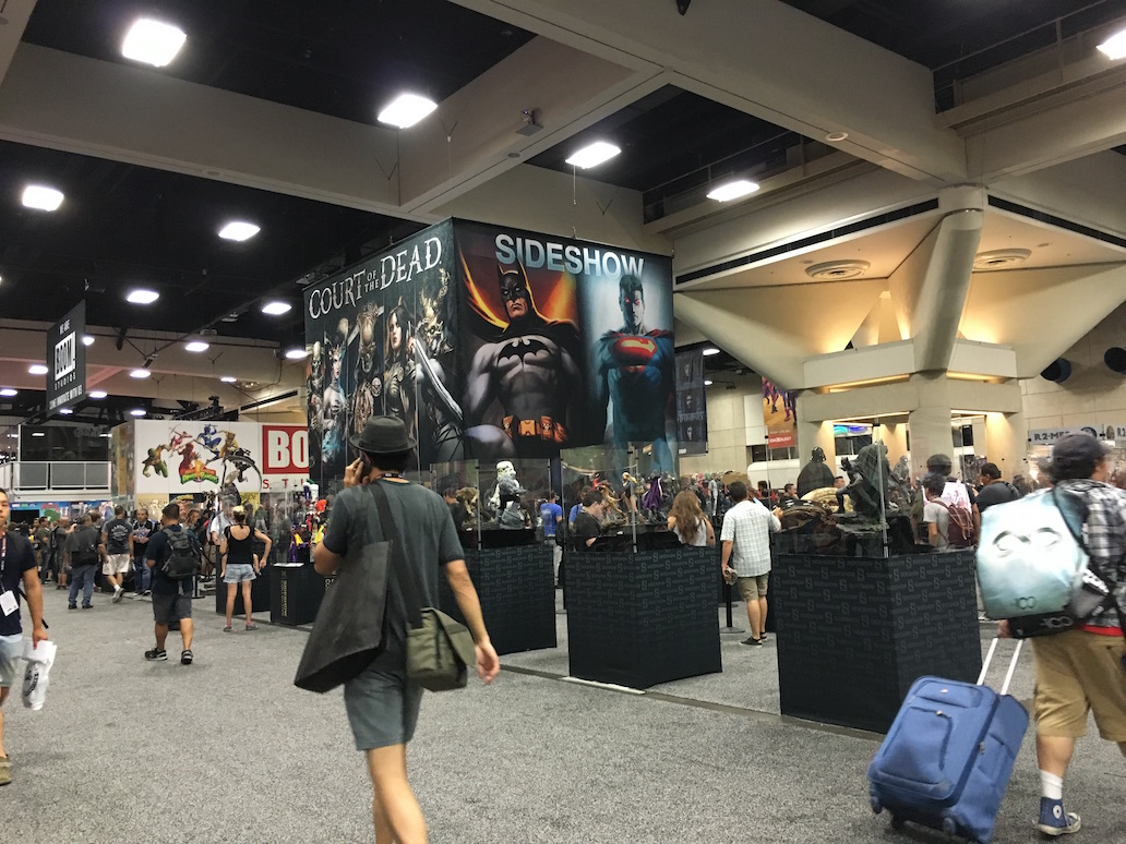SDCC view superheroes
