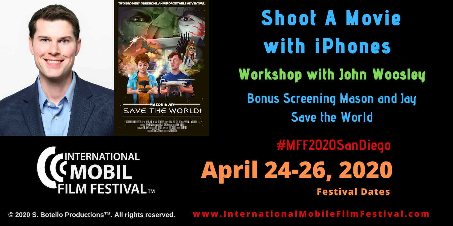 Shoot A Movie with iPhones Workshop IMFF 2020 web